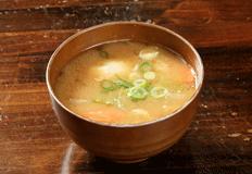 とりいち津大里店サイドメニュー「鶏団子汁」