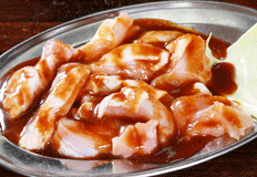 とりいち津大里店お食事メニュー「若鶏」